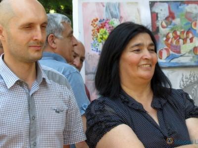 Мама автора картин Вадима Каджаева Соня Хубаева