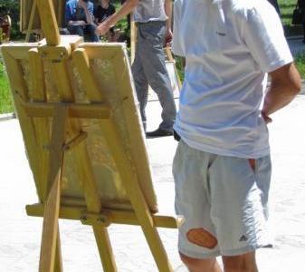 Посетитель выставки
