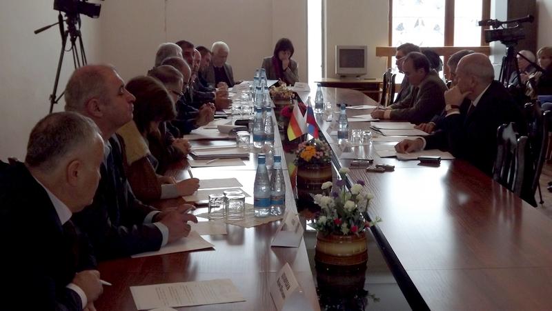 Заседание Комиссии по сотрудничеству Парламента РЮО и СФ РФ